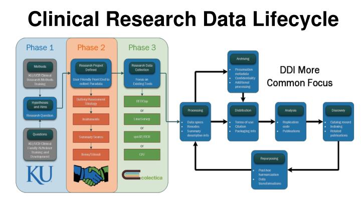 Clinical Research Data Lifecycle