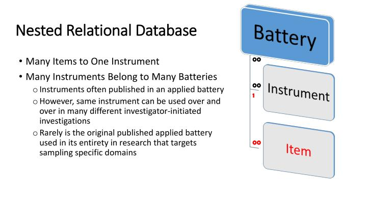 Nested Relational Database