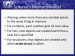 scheme s memory model