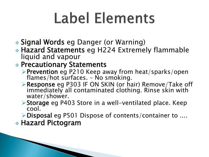 Label Elements