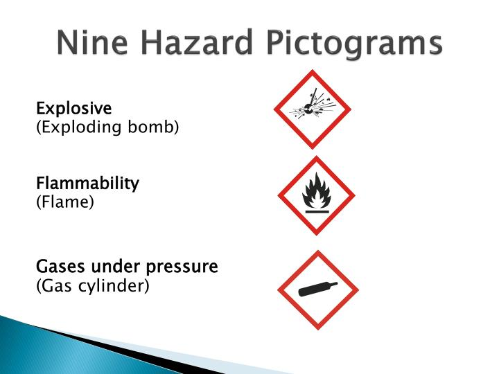 Nine Hazard Pictograms