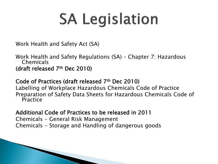 SA Legislation