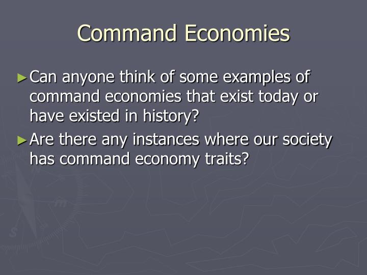 Command Economies