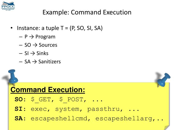 Example: Command Execution