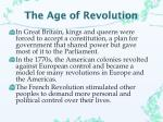 the age of revolution1