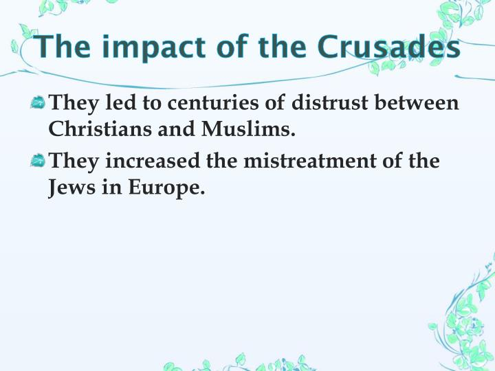 The impact of the Crusades