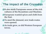 the impact of the crusades1