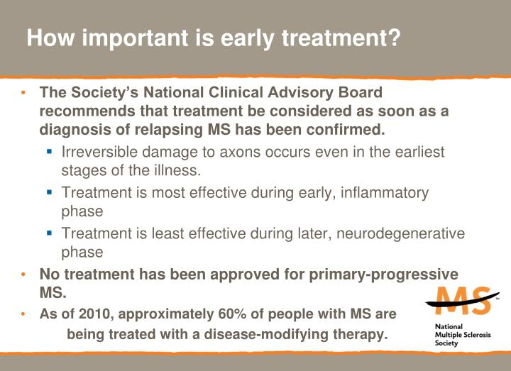 How important is early treatment?