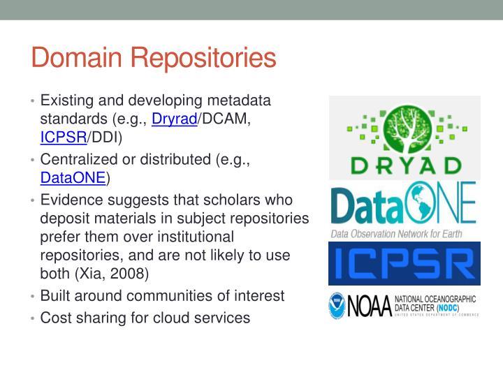 Domain Repositories