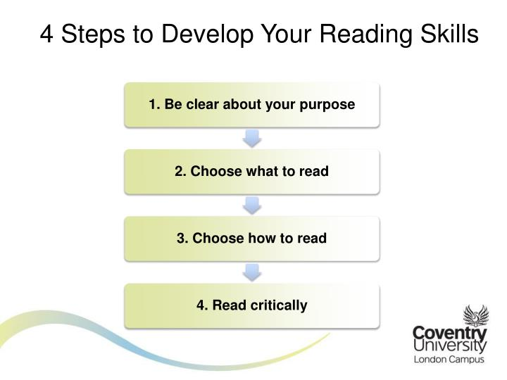 4 Steps to Develop Your Reading Skills