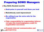preparing sowo managers2