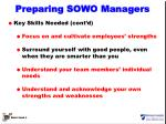 preparing sowo managers3
