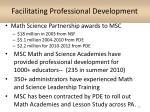 facilitating professional development