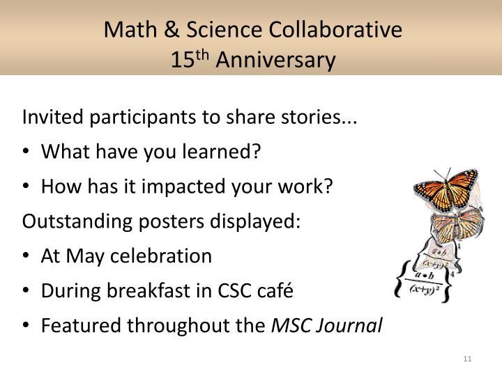 Math & Science Collaborative