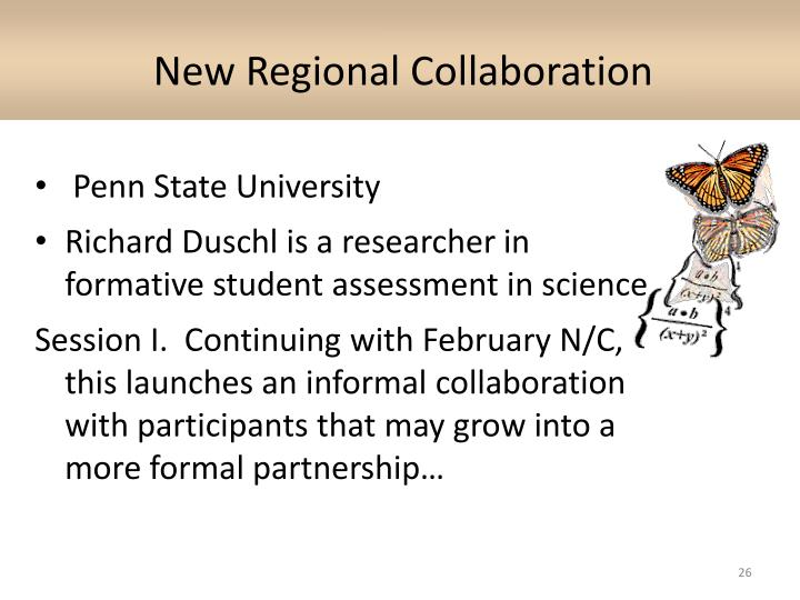 New Regional Collaboration