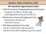 update state initiatives sas