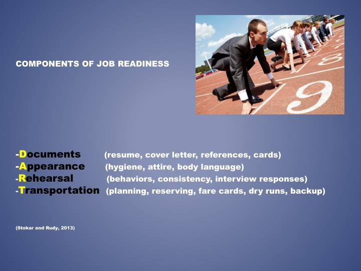 COMPONENTS OF JOB READINESS