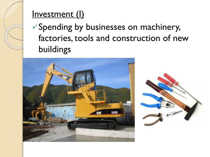 Investment (I)