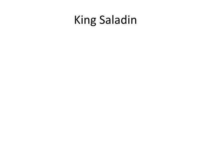 King Saladin