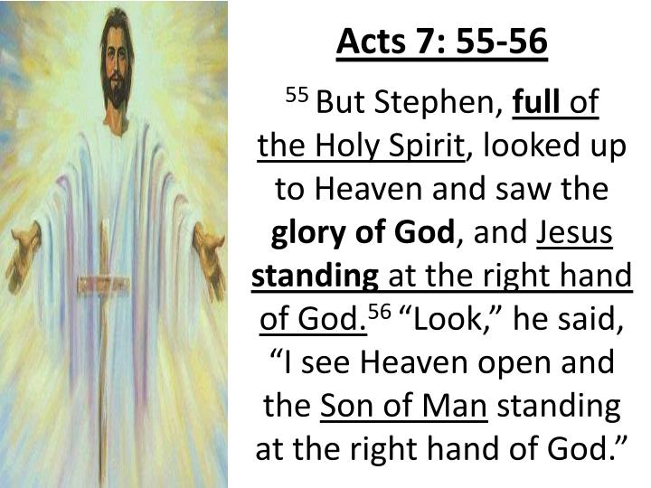 Acts 7: 55-56