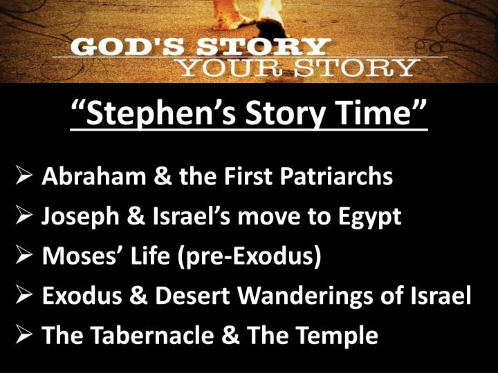 """Stephen's Story Time"""