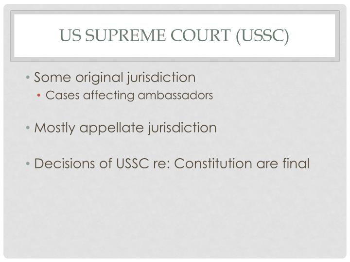 US Supreme Court (USSC)