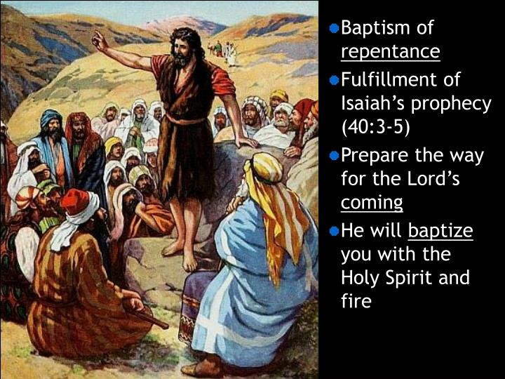Baptism of