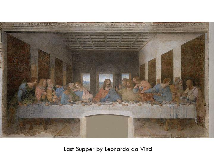 Last Supper by Leonardo