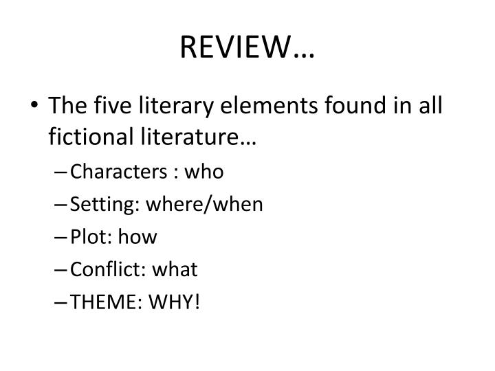 REVIEW…