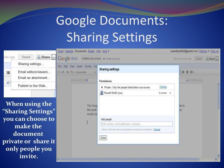 Google Documents: