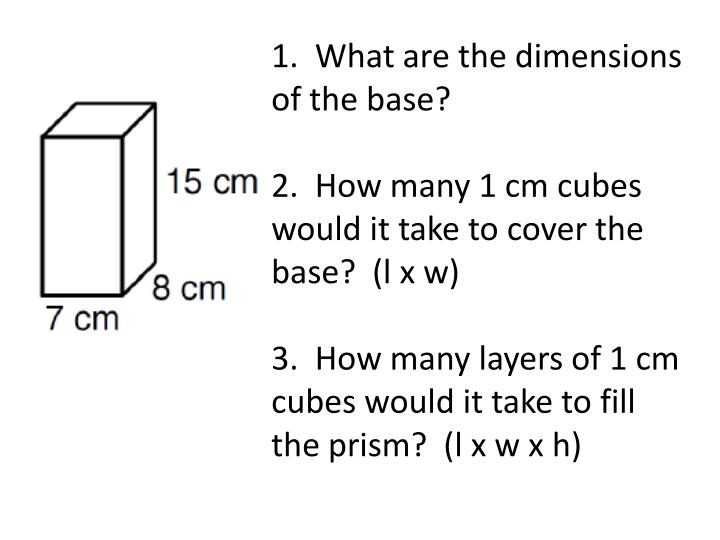 1.  What are the dimensions