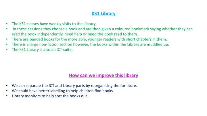 KS1 Library