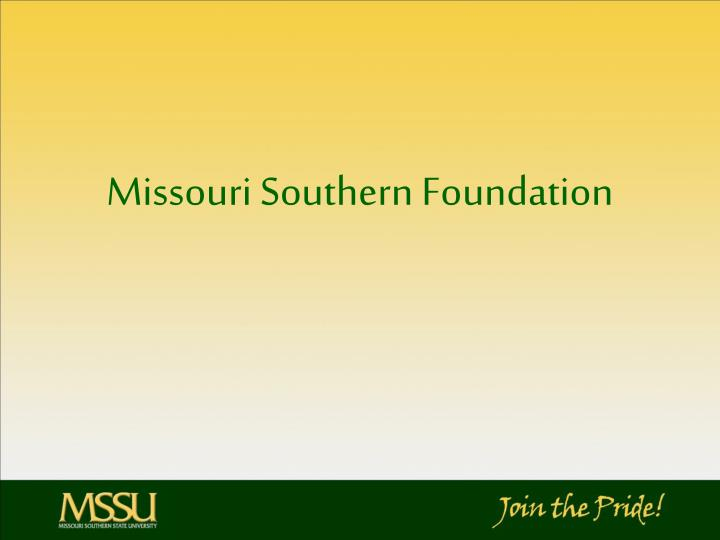 Missouri Southern Foundation