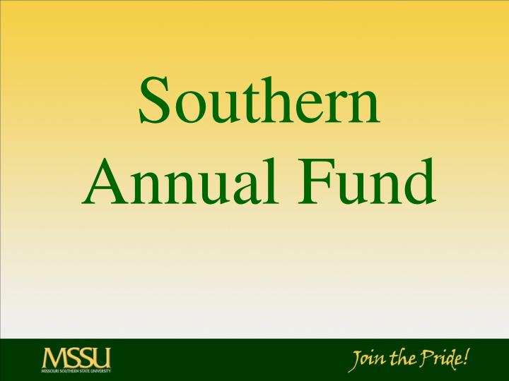 Southern Annual Fund