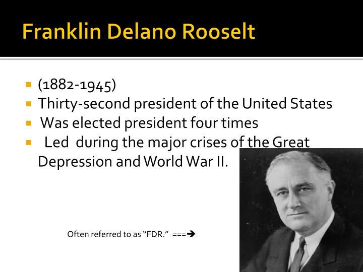 Franklin Delano