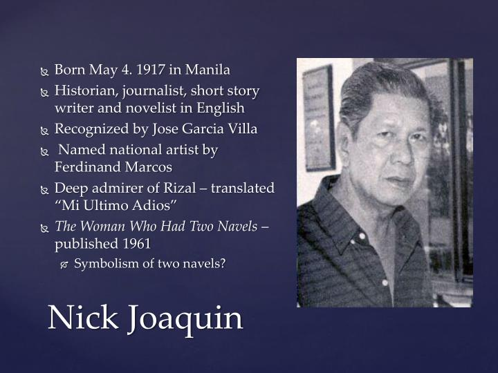 Born May 4. 1917 in Manila