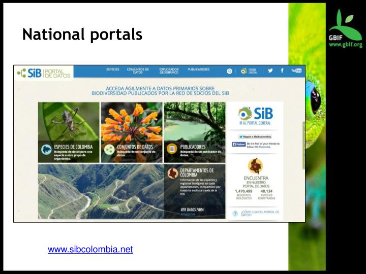 National portals