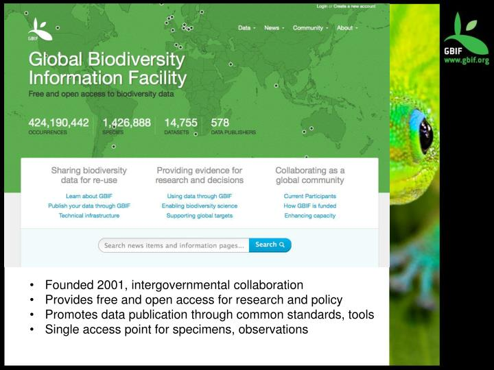Founded 2001, intergovernmental collaboration