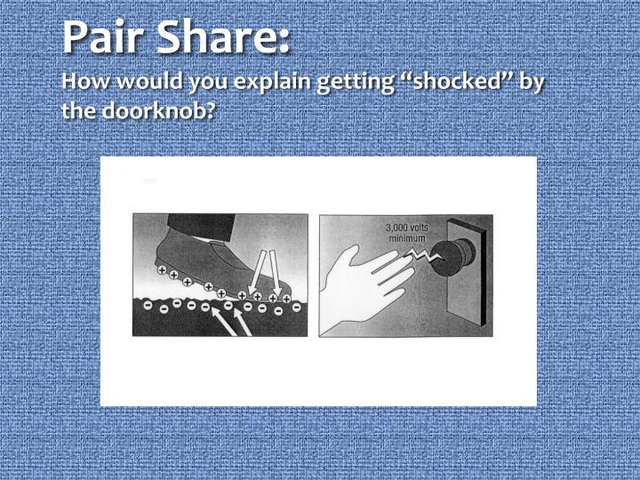 Pair Share:
