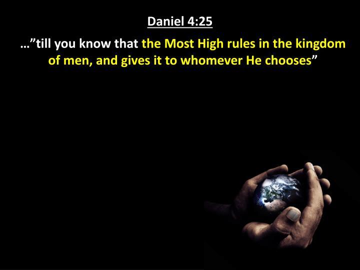 Daniel 4:25