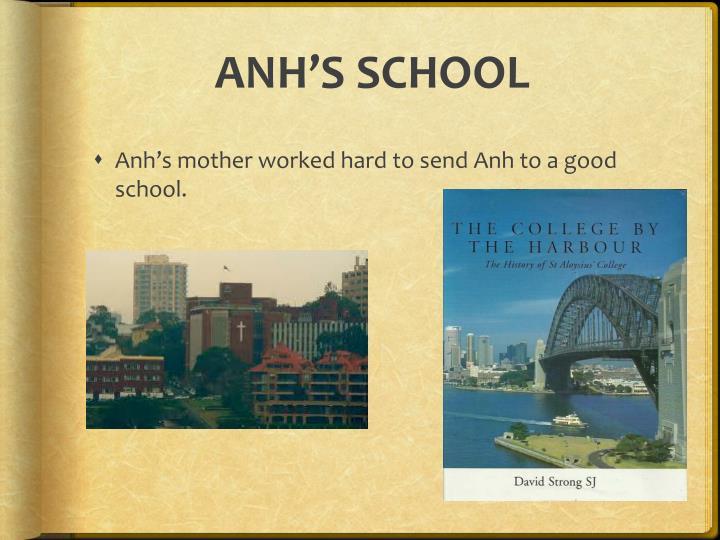 ANH'S SCHOOL