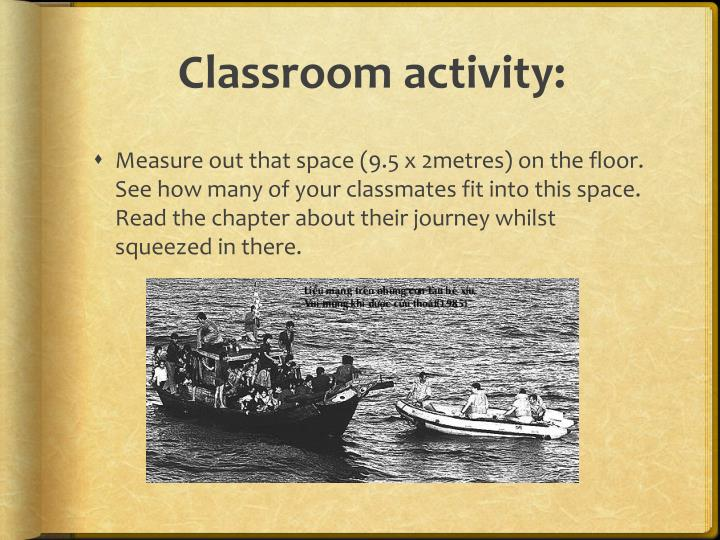 Classroom activity: