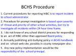 bchs procedure