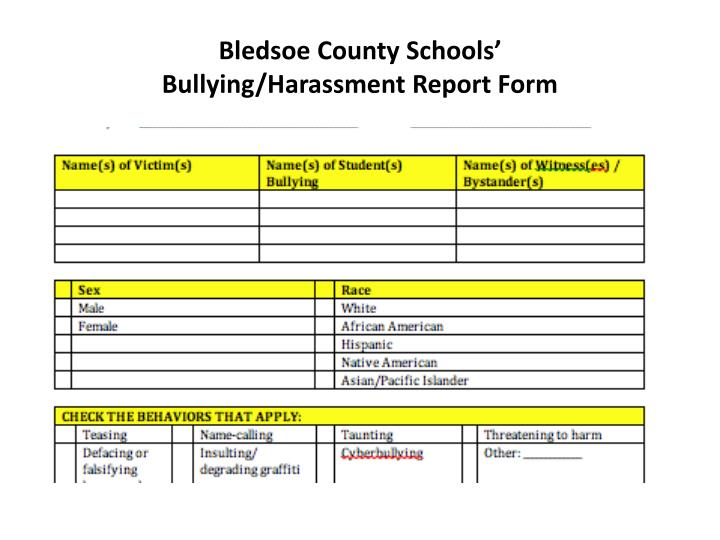 Bledsoe County Schools'