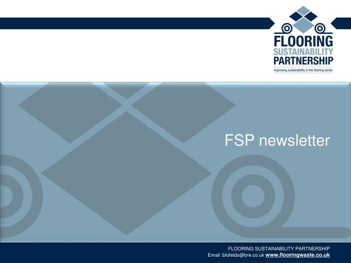FSP newsletter