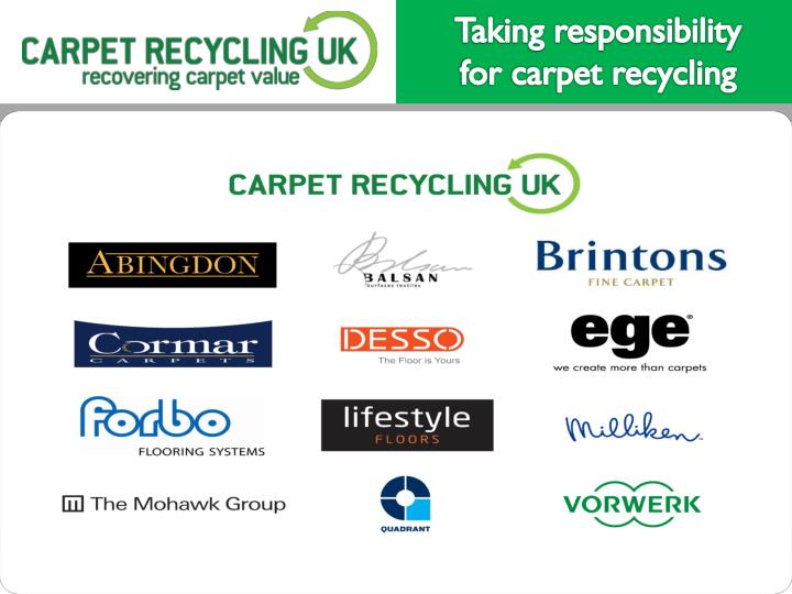 Taking responsibility for carpet recycling