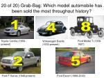 20 of 20 grab bag which model automobile has been sold the most throughout history1