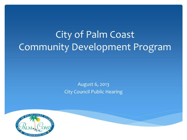 City of Palm Coast