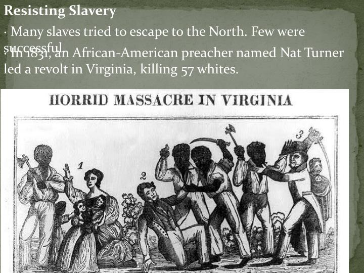 Resisting Slavery