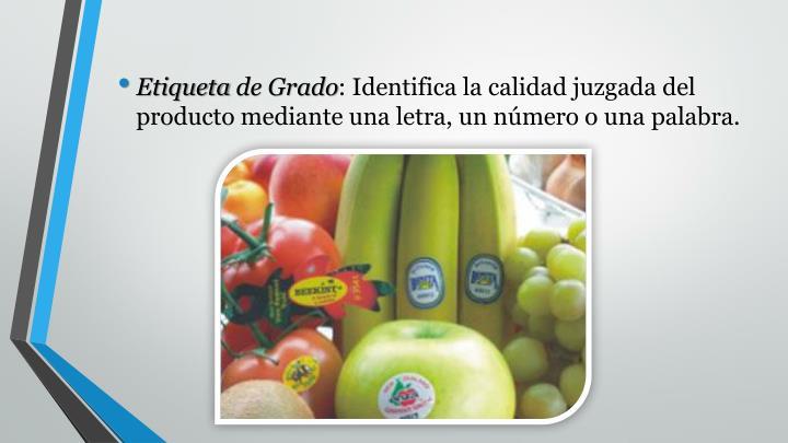 Etiquetade Grado